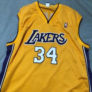 LA Lakers SHAQUILLE O'NEAL Jersey Champion